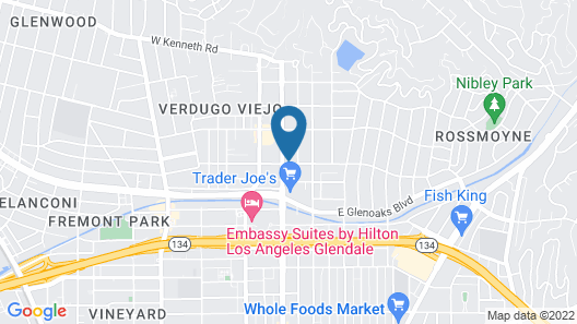 The Glenmark, Glendale, a Tribute Portfolio Hotel Map
