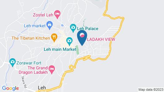 Hotel Leh Plaza Map
