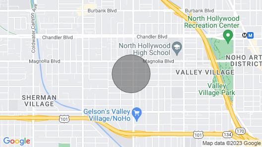 Amazing Valley Village Garden Apartment Map