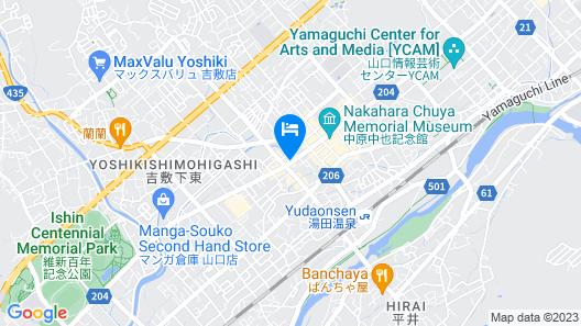 Hotel Nishi-no-Miyabi Tokiwa Map