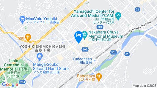 Hotel New Tanaka Map