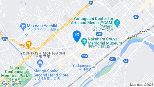 Yu No Yado Aji No Yado Umenoya Map
