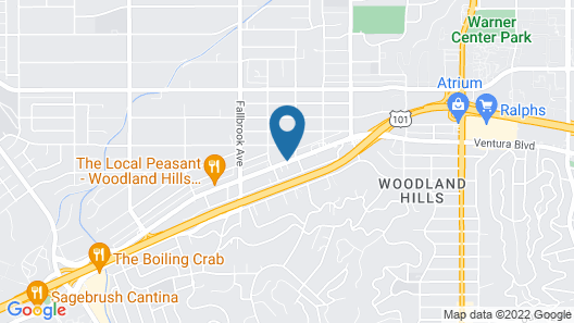 Holiday Inn Express Hotel & Suites Woodland Hills, an IHG Hotel Map