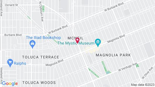 Travelodge by Wyndham Burbank-Glendale Map