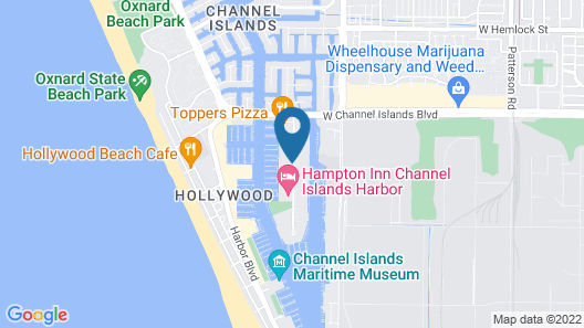 Hampton Inn Channel Islands Harbor/Oxnard Map