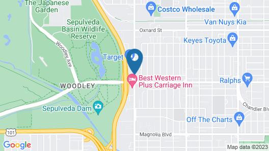 Hampton Inn & Suites Los Angeles/Sherman Oaks Map