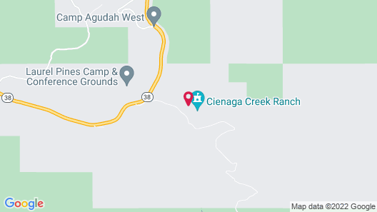 Cienaga Creek Ranch Map
