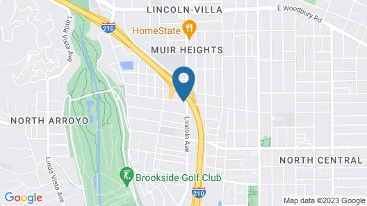 Lincoln Motel Map