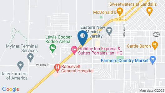 Super 8 by Wyndham Portales Map