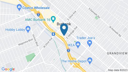 Residence Inn by Marriott Los Angeles Burbank Downtown Map