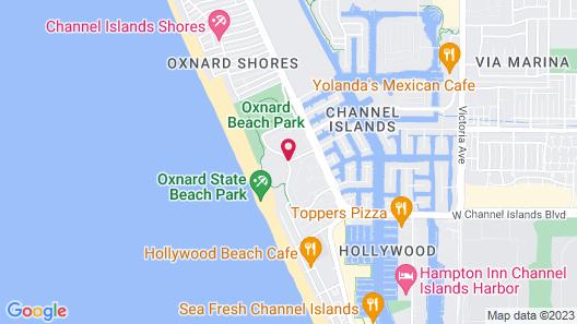 Embassy Suites by Hilton Mandalay Beach Hotel & Resort Map