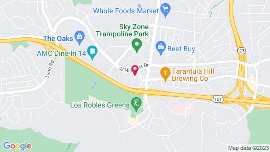 Quality Inn & Suites Thousand Oaks - US101 Map