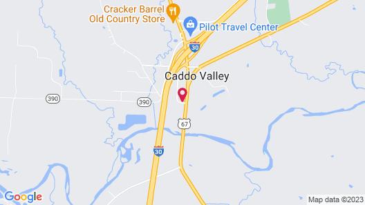 Baymont by Wyndham Caddo Valley/Arkadelphia Map