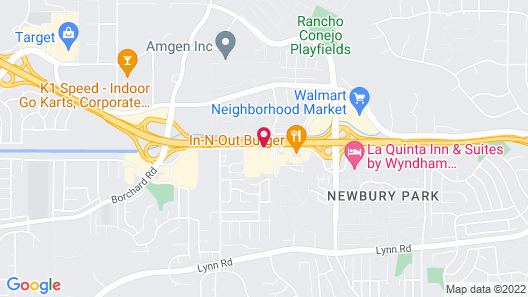 TownePlace Suites by Marriott Thousand Oaks Map