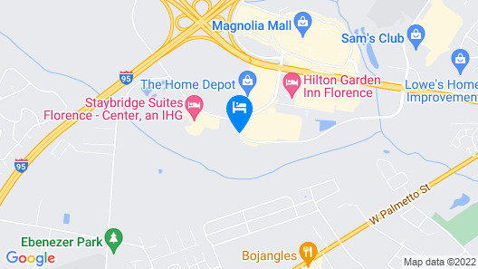 Home2 Suites by Hilton Florence, SC Map