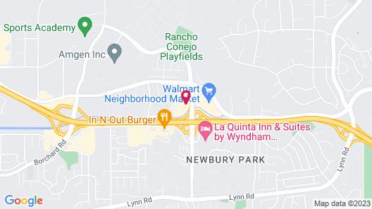 Palm Garden Hotel Map