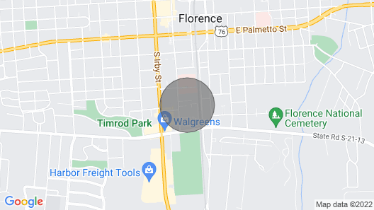 Home in the Heart of Downtown Florence Map