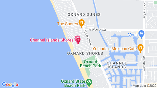 Channel Island Shores Map