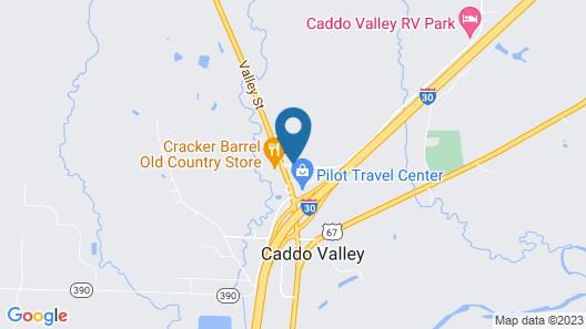 Holiday Inn Express Arkadelphia - Caddo Valley, an IHG Hotel Map