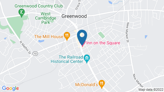Inn on the Square Map