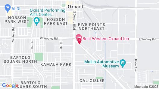 Best Western Oxnard Inn Map