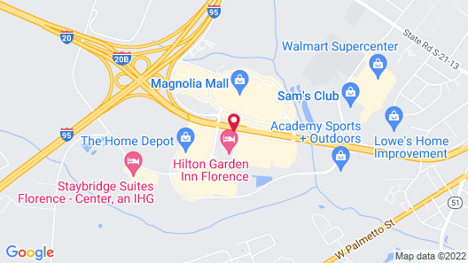 SpringHill Suites by Marriott Florence Map