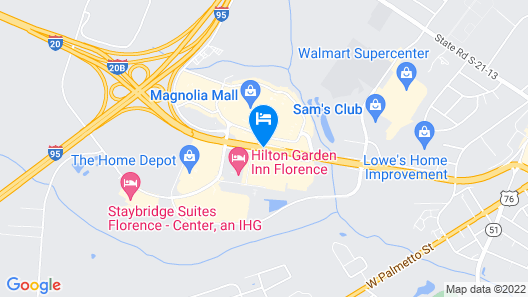 Red Roof Inn Florence - Civic Center Map