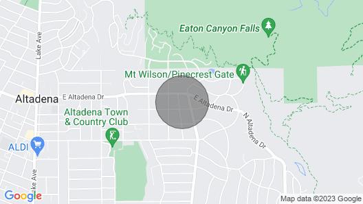 Airstream Urban Campsite Map