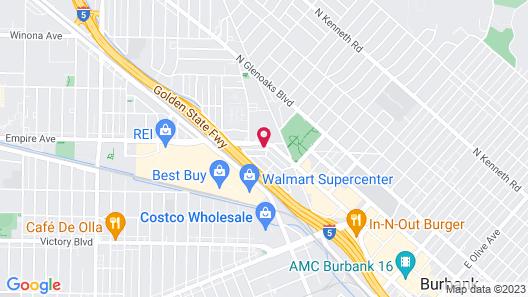 Bell Vista Motel Map