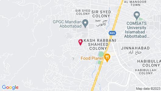 Alaf Laila Guest House Map