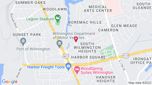 Holiday Inn Express & Suites Wilmington West - Medical Park, an IHG Hotel Map