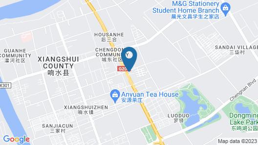 GreenTree Inn Zhejiang Yancheng Xiangshui Jinhai Changjiang Rord Express Hotel Map