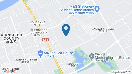 GreenTree Inn Yancheng Xiangshui Bus Station Express Hotel Map