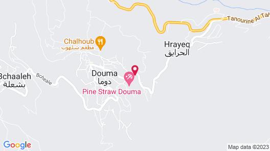 Douma Hotel Map