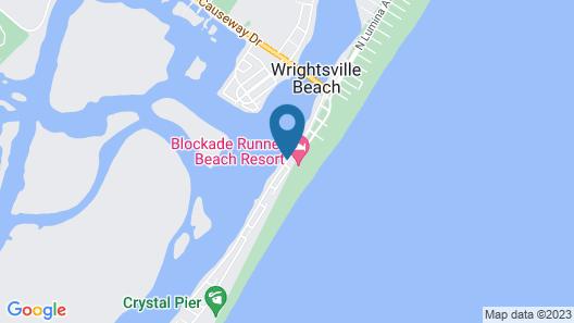 Blockade Runner Beach Resort Map