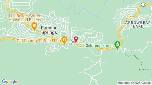 Giant Oaks Lodge Map