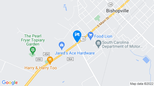 Red Roof Inn Bishopville Map