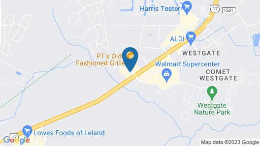 Holiday Inn Express Leland - Wilmington Area, an IHG Hotel Map