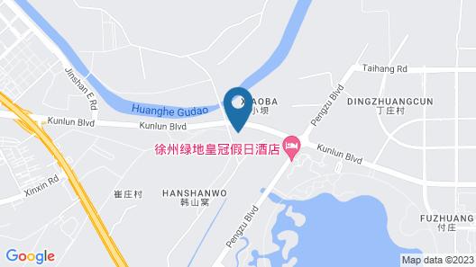 Crowne Plaza Xuzhou Dalong Lake, an IHG Hotel Map