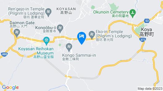 Fudou-in Map