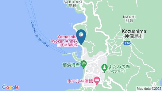 Yamashita Ryokan Bekkan Map