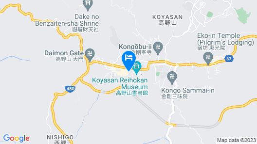 Koyasan Henjosonin Map