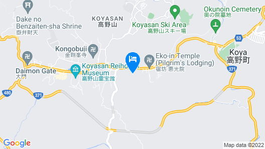 Koyasan Syukubou Fudouin Map