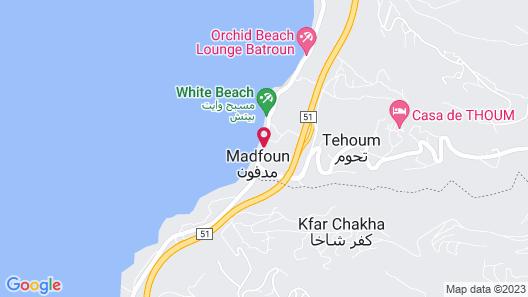 Le Six Resort Hotel Map