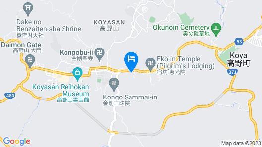 Jimyo-in Map