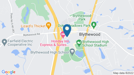Holiday Inn Express Hotel & Suites Blythewood, an IHG Hotel Map