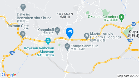 KOYASAN GUEST HOUSE TOMMY Map