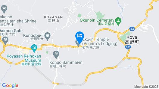 KOYASAN SEKISHOIN Map