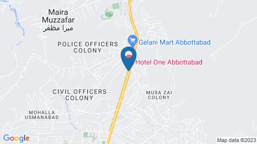 Hotel One Abbottabad Map