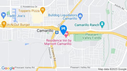 Residence Inn by Marriott Camarillo Map
